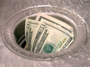 ways to waste money