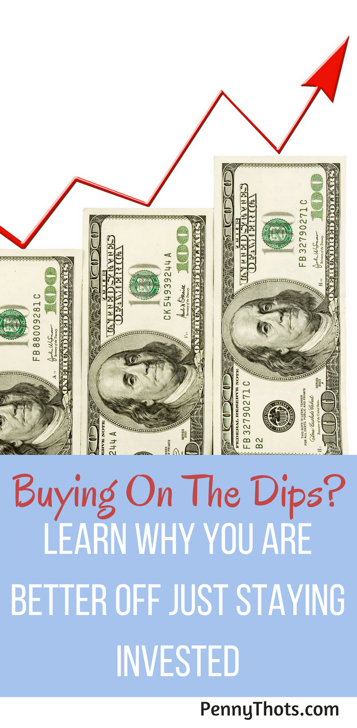 Buying On The Dips? Smart Investors Know The Trick To Make Money | If you haven't seen the results you were hoping for from investing your money, you might be doing it wrong. Click through to learn the most common investing mistake and how to easily fix it.