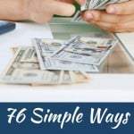 Easy Ways To Save Tons of Money