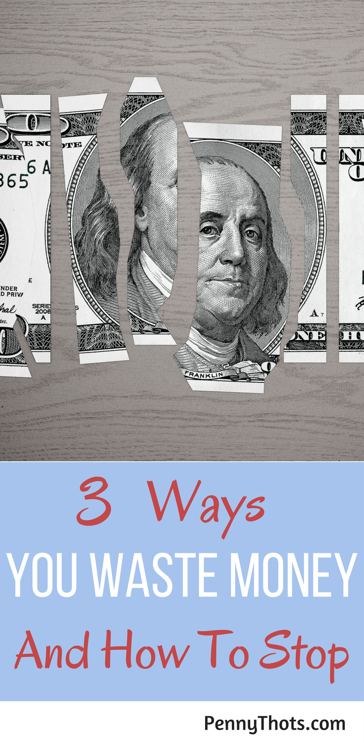 3 Ways We Waste Money Unintentionally (And How To Overcome It) | Are you struggling with money? Not able to save money? Overspending and getting into debt? Here are 3 ways you are wasting money and how to overcome it. Click through to learn more!