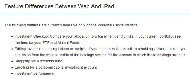 personal capital feature differences