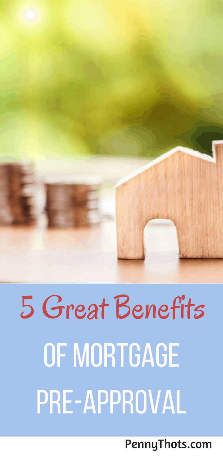 5 Benefits Offered By Mortgage Pre-Approval | Looking to buy a house?  Learn why getting pre-approved for a mortgage is essential to getting the house of your dreams!