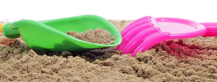 sand shovel