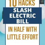 Cut Electric Bill