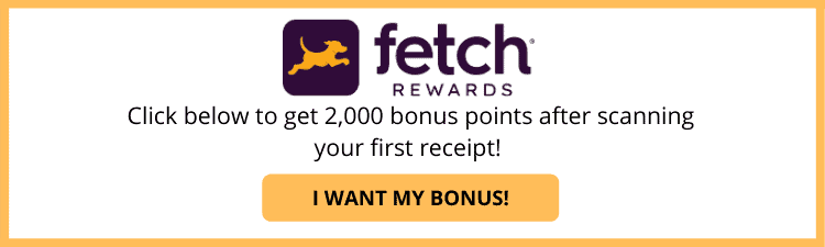 Fetch Rewards Button