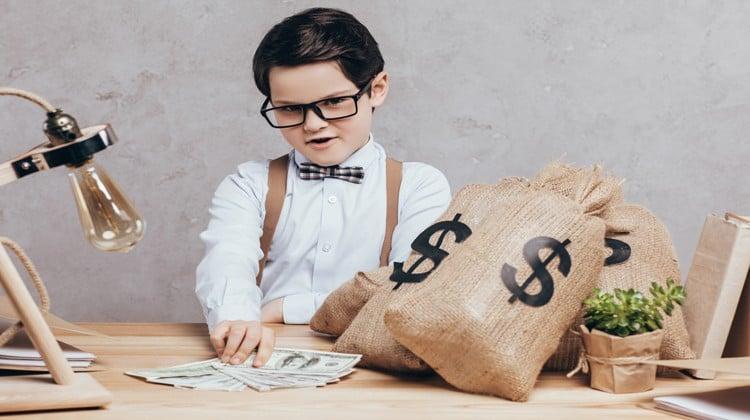 kid making money