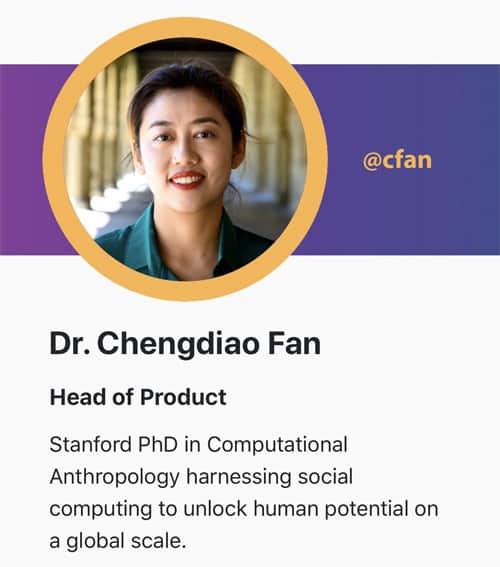 Dr Chengdiao Fan