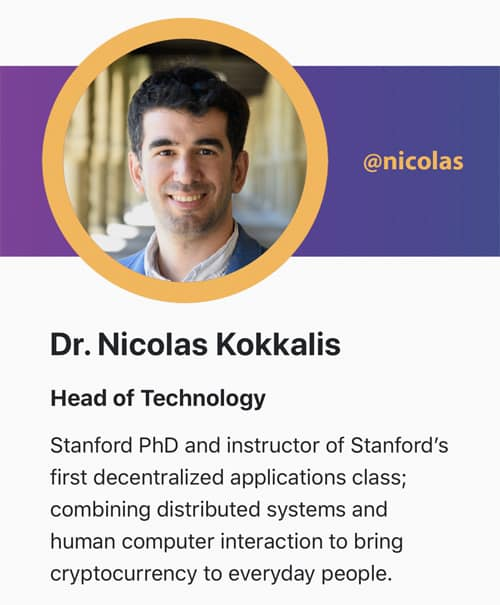 Dr Nicolas Kokkalis