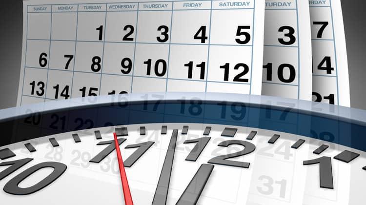 setting deadlines