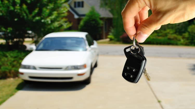 buying a car privately