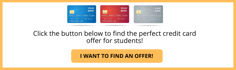 Student Credit Card Button